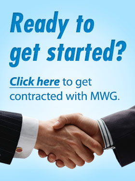 Ready to Get Started? Click here to get contracted with MWG.